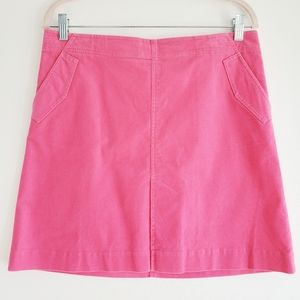 Lilly Pulitzer Pink Courderoy Skirt